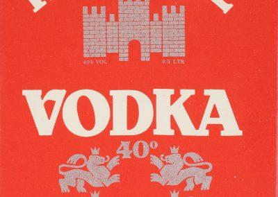 Vodka Tzarevetz - Old