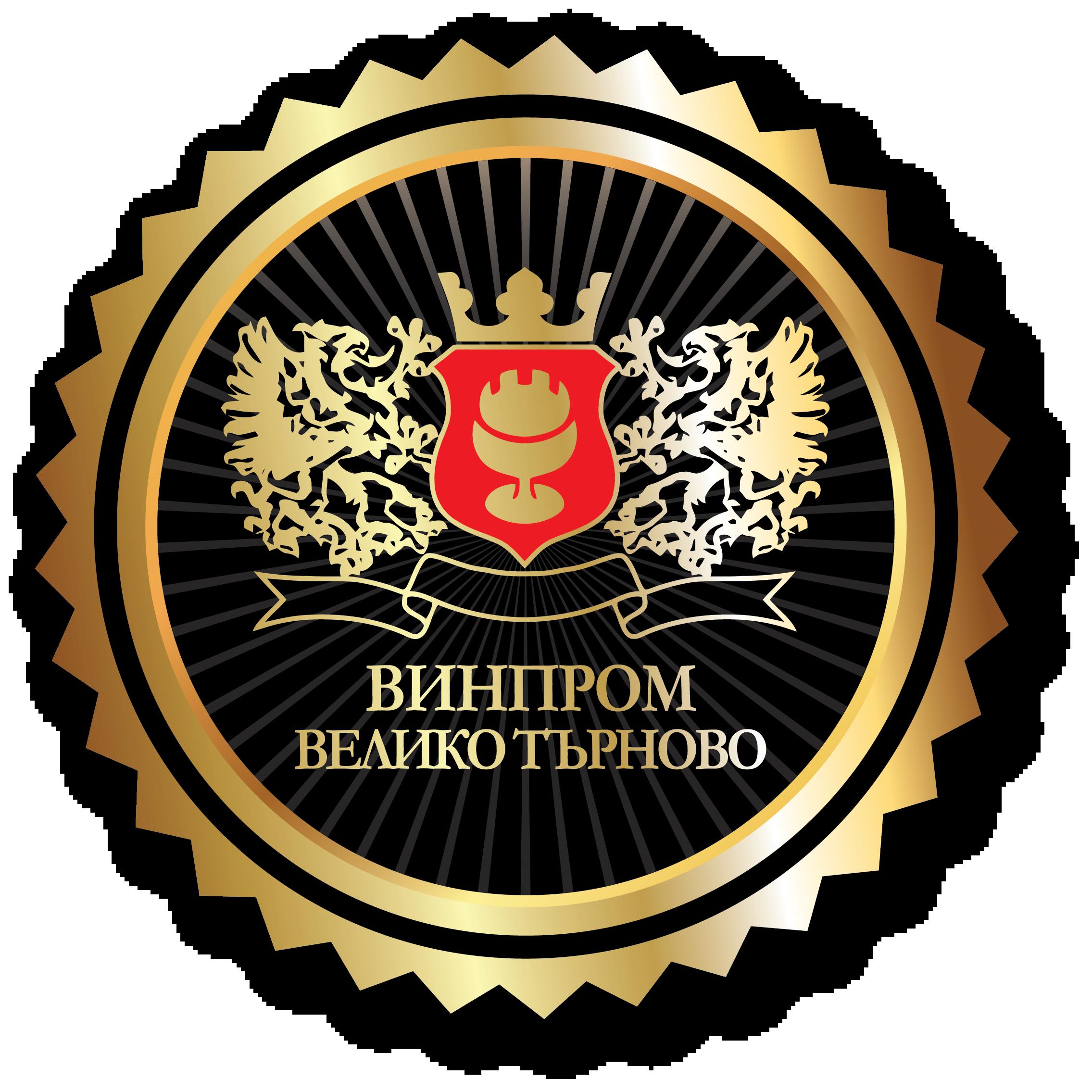 Винпром АД Велико Търново, лого, лого винпром ад велико търново